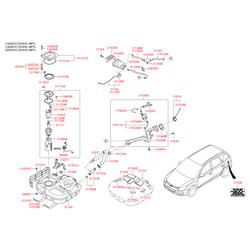 Адсорбер паров топлива (Hyundai-KIA) 314202H100