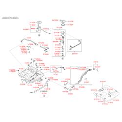 Регулятор давления топлива (Hyundai-KIA) 313803L000