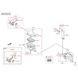 Втулка воздушного фильтра двигателя (Hyundai-KIA) 281723X000