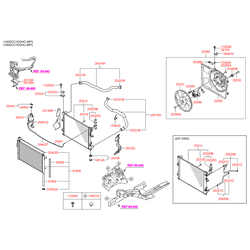 Радиатор (Hyundai-KIA) 253102H000