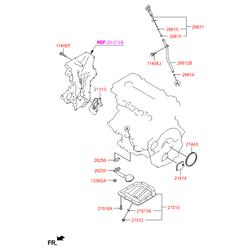 Поддон масляный (Hyundai-KIA) 215102B040