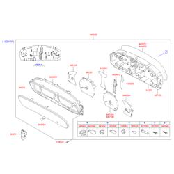 Патрон лампы (Hyundai-KIA) 1866804000