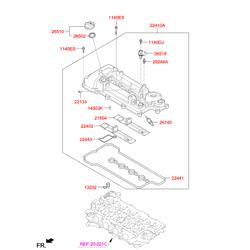 Болт М6 (Hyundai-KIA) 1140306286K