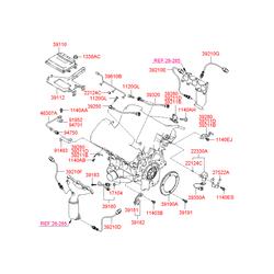 Болт (Hyundai-KIA) 1140306283