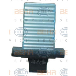 Резистор, вентилятор кондиционера (HELLA) 9ML351321451