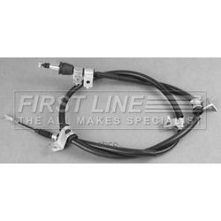 Трос, стояночная тормозная система (First line) FKB3505