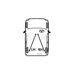 Трос, стояночная тормозная система (First line) FKB3410