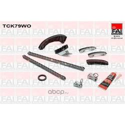 Комплект цепи ГРМ (FAI) TCK79WO