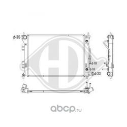 Радиатор, охлаждение двигателя (DIEDERICHS) DCM3739