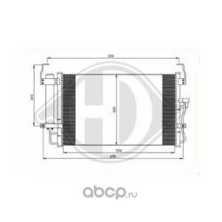 Конденсатор, кондиционер (DIEDERICHS) DCC1894