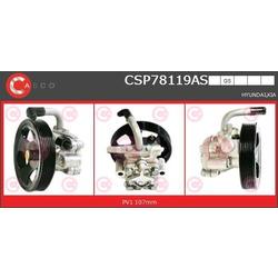 Гидравлический насос, рулевое управление (CASCO) CSP78119AS