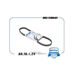 Ремень поликлиновый (BRAVE) BRTB124