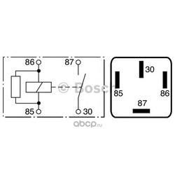 Реле электрическое (Bosch) 0986332071