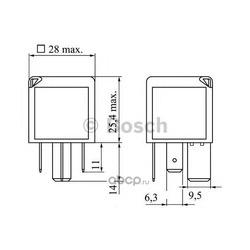 Реле (Bosch) 0986332001