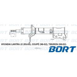 Стойка амортизационная газомасляная задняя правая (BORT) B333207