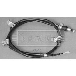 Трос, стояночная тормозная система (BORG&BECK) BKB3105