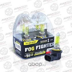 Лампа высокотемпературная HB4 12V 55W(85W) 3000K, комплект 2шт (AVANTECH) AB3006