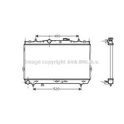 Радиатор системы охлаждения МКПП (Ava) HY2095