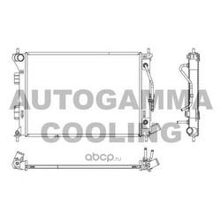 Радиатор (AUTOGAMMA) 107139