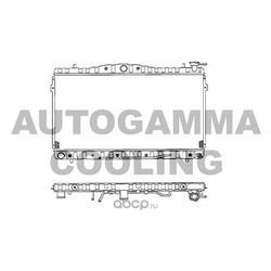 Радиатор (AUTOGAMMA) 101444