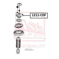 Подвеска, амортизатор (ASVA) 1211CDF