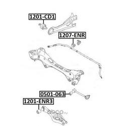 Подвеска (ASVA) 1201ENR3