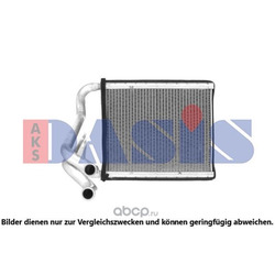 Теплообменник, отопление салона (AKS DASIS) 569032N