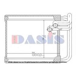 Теплообменник, отопление салона (AKS DASIS) 569004N