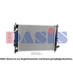 Радиатор, охлаждение двигателя (AKS DASIS) 560112N
