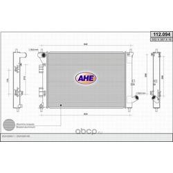Радиатор, охлаждение двигателя (AHE) 112094