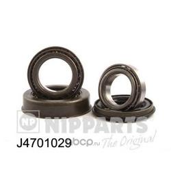 Комплект подшипника ступицы колеса (Nipparts) J4701029