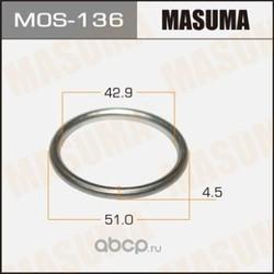 Прокладка выхлопной системы (Masuma) MOS136