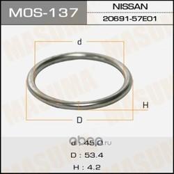 Кольцо глушителя (Masuma) MOS137