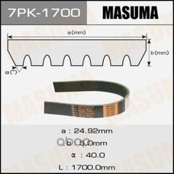 Ремень привода навесного оборудования (Masuma) 7PK1700