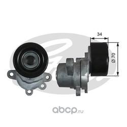 Натяжной ролик привода вспомогательных агрегатов (Gates) T39155
