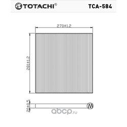 Фильтр салона (TOTACHI) TCA584