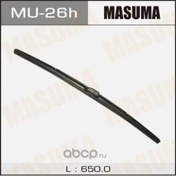 Дворник гибридный, крюк боковое крепление (Masuma) MU26H