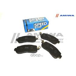 Колодки тормозные дисковые передние (Amiwa) CD1114