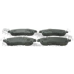 Колодки тормозные передние (Febest) 0201L33RF
