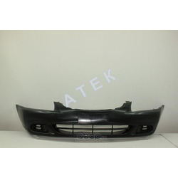 Бампер передний (накладка, без отверстий под птф, под окрас) (ATEK) 23111050