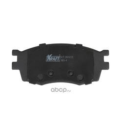 Колодки тормозные дисковые передние с антишумовой накладкой (Kraft) KT091418