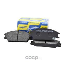 Колодка дискового тормоза с накладками в сборе без датчика (TRANSMASTER) TR991C