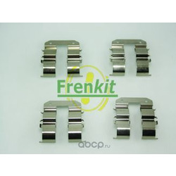 Комплектующие, колодки дискового тормоза (Frenkit) 901734