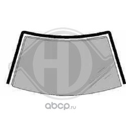 Облицовка / защитная накладка, ветровое стекло (DIEDERICHS) 8309018