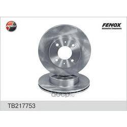 Диск тормозной (FENOX) TB217753