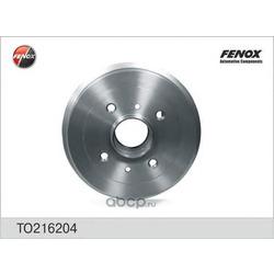 Барабан тормозной (FENOX) TO216204