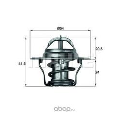 Термостат, охлаждающая жидкость (Mahle/Knecht) TX487D