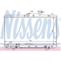 Радиатор, охлаждение двигателя (Nissens) 67023