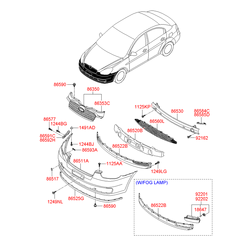 Буфер (Hyundai-KIA) 865111E000