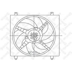 Вентилятор (Stellox) 2999182SX